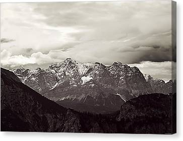 Dark Alps Canvas Print