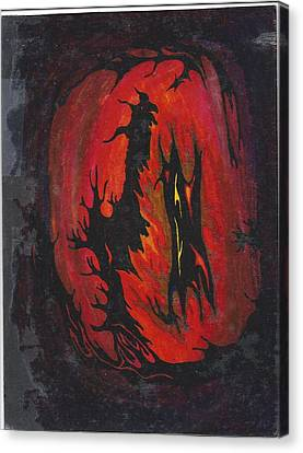 Dark Canvas Print by Cim Paddock