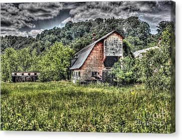 Dark Days For The Farm Canvas Print