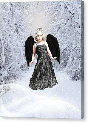 Dark Fairy Canvas Print by ChelsyLotze International Studio