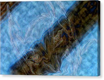 Dark Knight Rises Abstract II Canvas Print