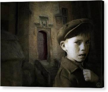 Dark Memories Canvas Print