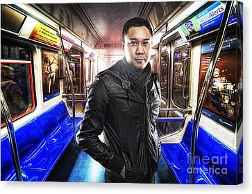 Dark Passenger Canvas Print by Yhun Suarez