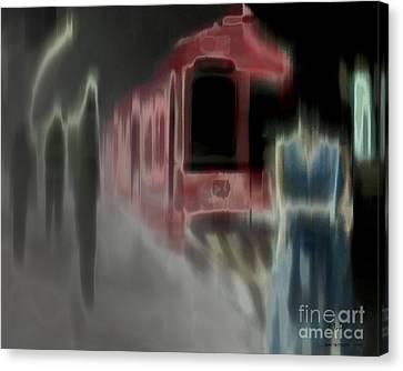Dark Passengers Canvas Print
