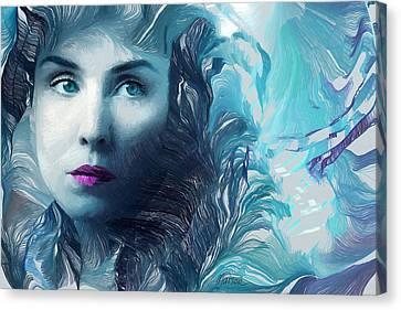 Dark Passion Canvas Print by Marina Likholat
