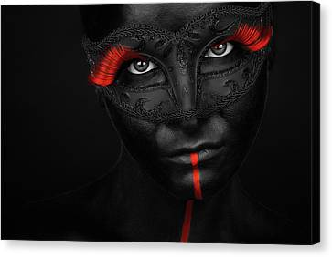 Dark Passion Canvas Print