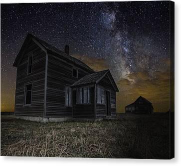 Dark Place Canvas Print by Aaron J Groen