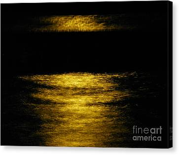 Dark Pool Canvas Print by Tyler Ash