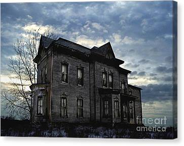 Dark Ruttle County Canvas Print by Tom Straub