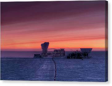 Keck Telescope Canvas Print - Dark Sector Lab Telescopes by Nsf/steffen Richter/harvard University