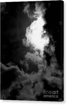 Dark Side Of The Sun Canvas Print by Vicki Spindler
