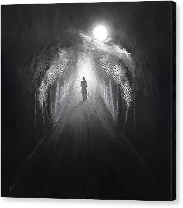 Dark To Light Canvas Print