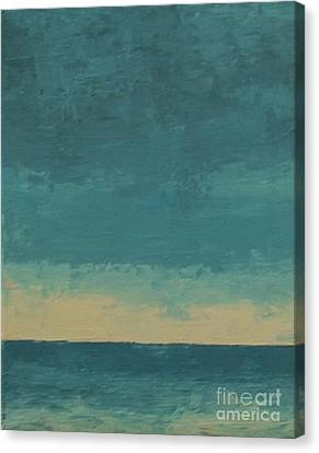 Dark Waters Canvas Print by Gail Kent