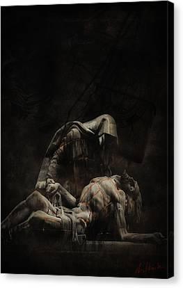 Darkdraw2 Canvas Print by Sven  Boeck