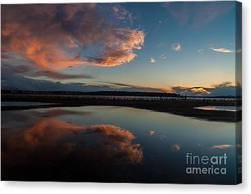Darkening With Color Canvas Print