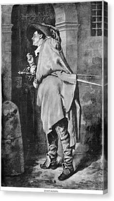 D'artagnan Canvas Print