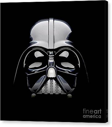 Darth Vader Helmet Canvas Print by Jon Neidert
