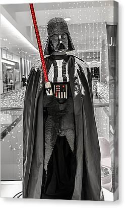Darth Vader. Canvas Print by Slavica Koceva
