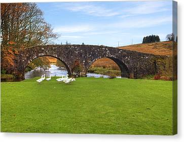 Dartmoor - Two Bridges Canvas Print by Joana Kruse