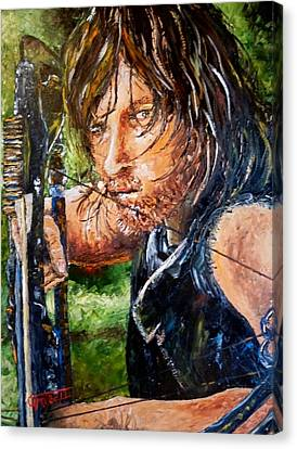 Daryl Canvas Print by Terry Campbell