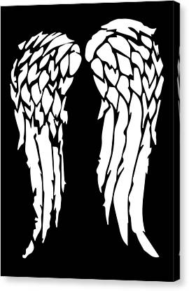 Daryl's Wings Canvas Print