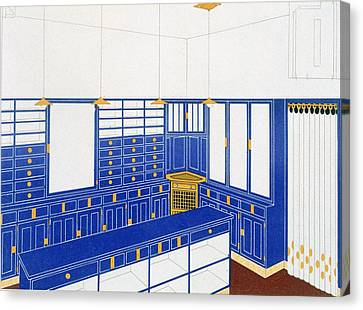 Das Interieur Iv, A Glove Shop, 1906 Canvas Print