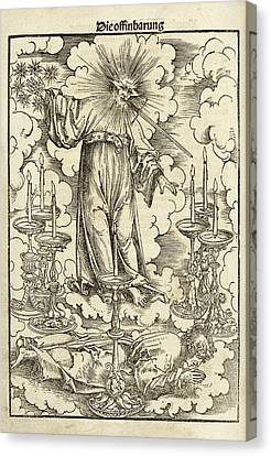 Das Newe Testament Deutzsch Canvas Print by British Library