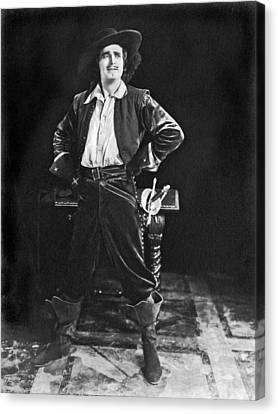Dashing Douglas Fairbanks Canvas Print
