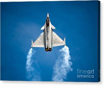 Dassault Rafale Canvas Print by Rastislav Margus
