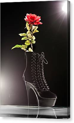 Dat Boot Canvas Print by Dario Infini