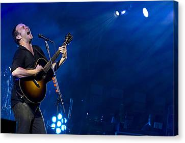 Dmb Canvas Print - Dave Matthews At Alpine Valley by Shawn Everhart