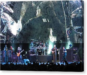 Dave Matthews Band Rocks Final Four Weekend Canvas Print by Aaron Martens