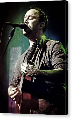 Dave Matthews Live Canvas Print by Jennifer Rondinelli Reilly - Fine Art Photography