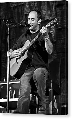 Dmb Canvas Print - Dave Matthews On Guitar 9  by Jennifer Rondinelli Reilly - Fine Art Photography