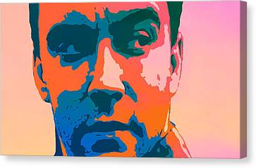 Dave Matthews Pop Art Canvas Print by Dan Sproul