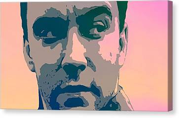Dave Matthews Portrait Poster Canvas Print by Dan Sproul