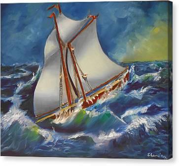 Daves' Ship Canvas Print