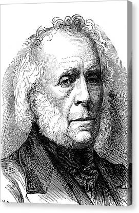 1874 Canvas Print - David Brewster by Collection Abecasis