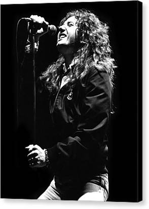 David Coverdale Canvas Print by Sue Arber