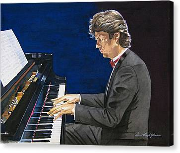 David Foster Symphony Sessions Portrait Canvas Print
