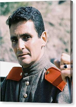 David Hedison In Voyage To The Bottom Of The Sea  Canvas Print by Silver Screen