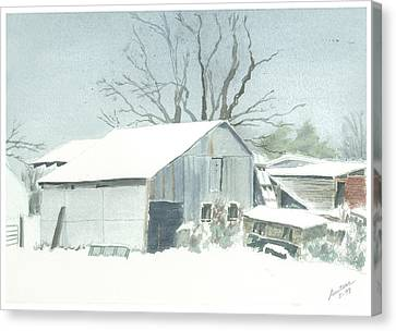 David Hoyles Shed Canvas Print