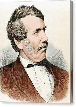 David Livingstone (1813-1873 Canvas Print by Prisma Archivo