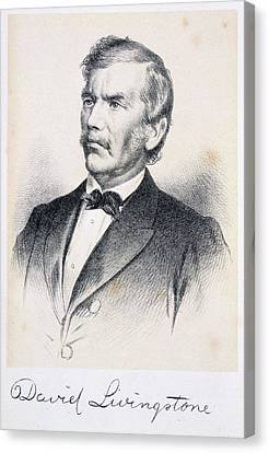 David Livingstone Canvas Print by British Library