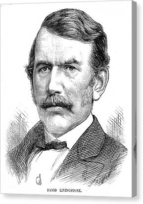 David Livingstone Canvas Print by Collection Abecasis