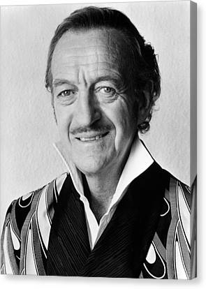 David Niven In Trail Of The Pink Panther  Canvas Print