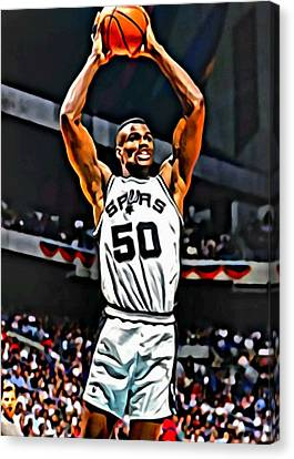 David Robinson Canvas Print by Florian Rodarte