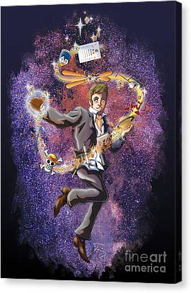 David T. Canvas Print by Tuan HollaBack