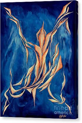 David's Angel Canvas Print