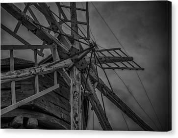 Davidson Windmill Canvas Print by Paul Freidlund